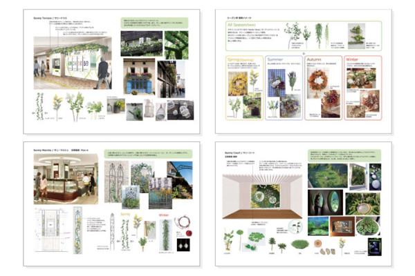 年間植栽計画 VMDプランニング