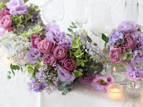 会場装花, ライラック,パープル,紫